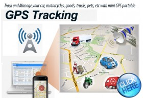 GPS tracking! on Spy House!