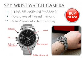 Spy Camera Watch!