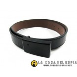 Leather Belt with Hidden Spy Camera HD