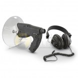 Microphone Directional with Headphone Monocular Bionics, Listening Audio Telescope