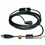 Endoscope/Borescope USB Camera with led ligth, 5 meters