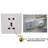 Wall outlet socket with Hidden Camera